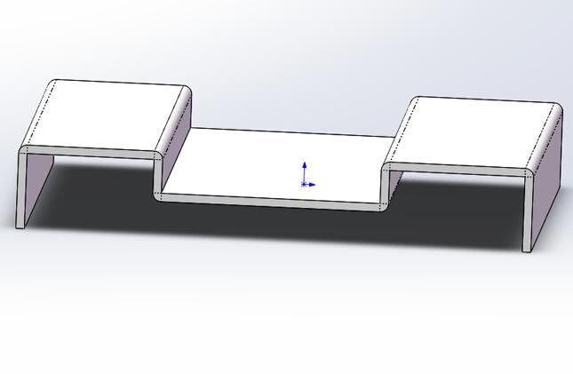 solidworks钣金折弯线显示出来的方法