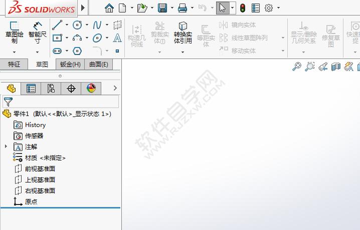 solidworks顶部菜单栏恢复_软件自学网