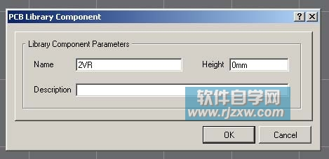 protel dxp 2004绘制电位器pcb库元件实例