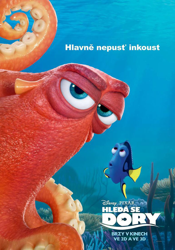 海底总动员2:多莉去哪儿电影海报设计