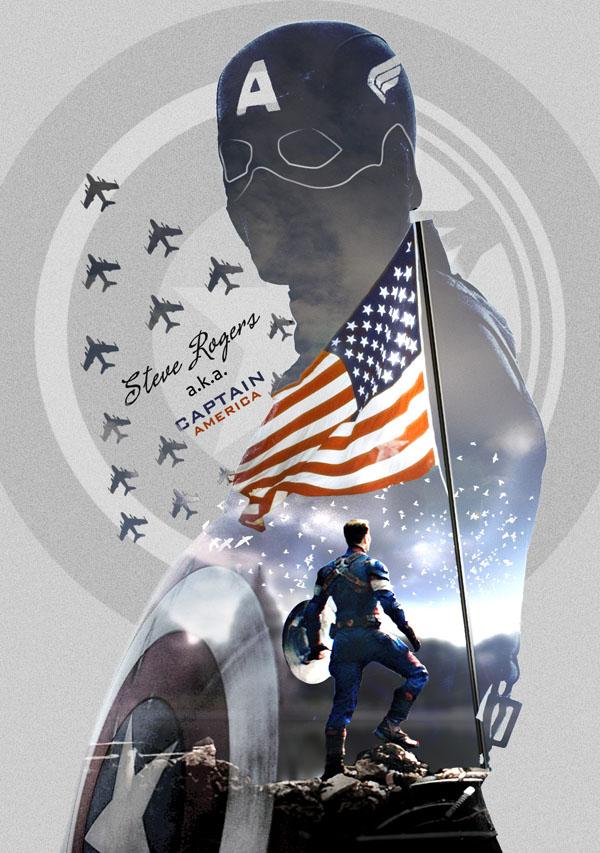 美国队长3高清电影海报
