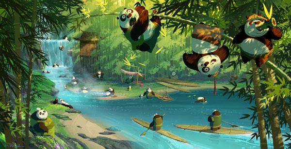 功夫熊猫3高清电影海报