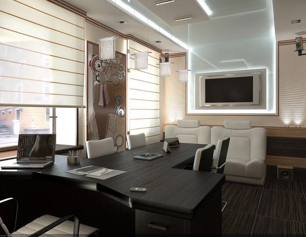 vugaraliyev室内设计效果作品_软件自学网