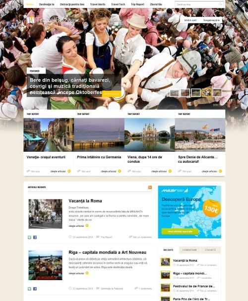 25个漂亮的杂志样式网站设计_软件自学网