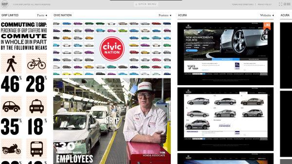 很有意思的一个外国创意设计公司网站_软件自学网