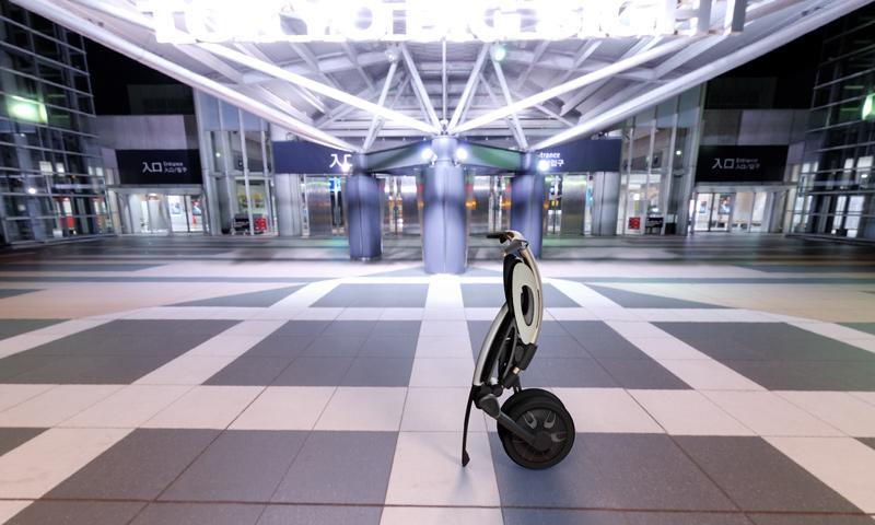 分享自动折叠智能电动车作品,这个创意设计不错,所以分享给大家,此