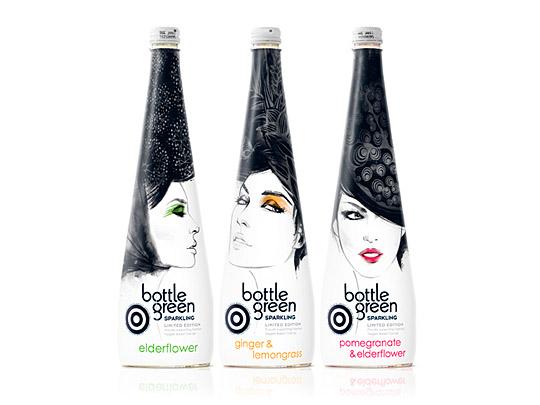 精选创意的瓶子包装设计欣赏