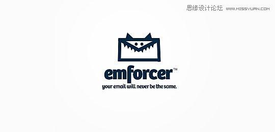 以怪兽为设计元素的logo设计