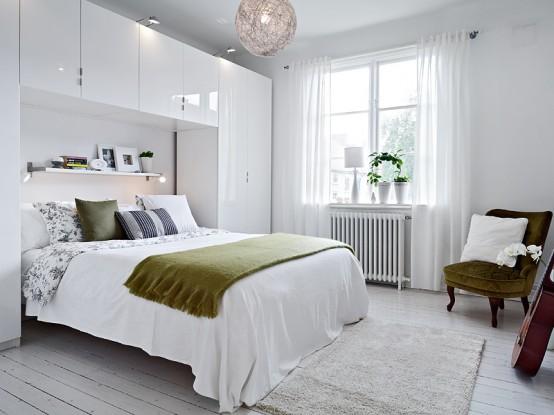 黑白色复式公寓室内设计