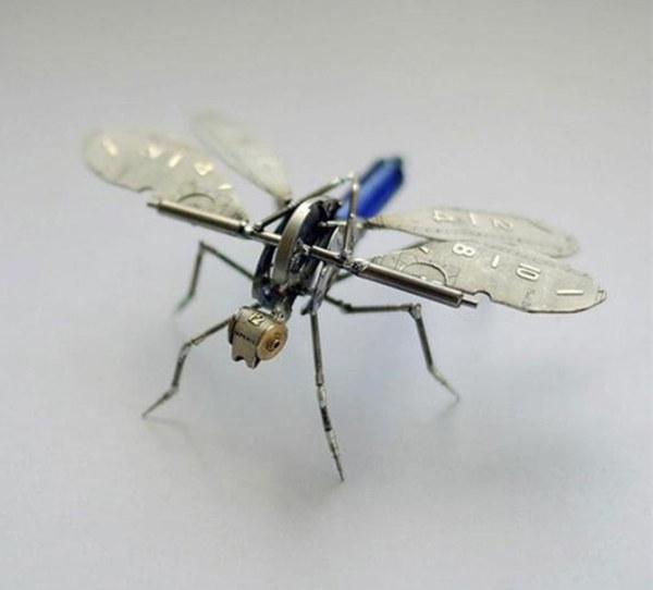 机械昆虫设计