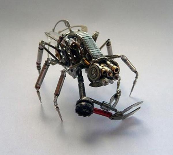 机械昆虫设计 - 1 - 软件自学网