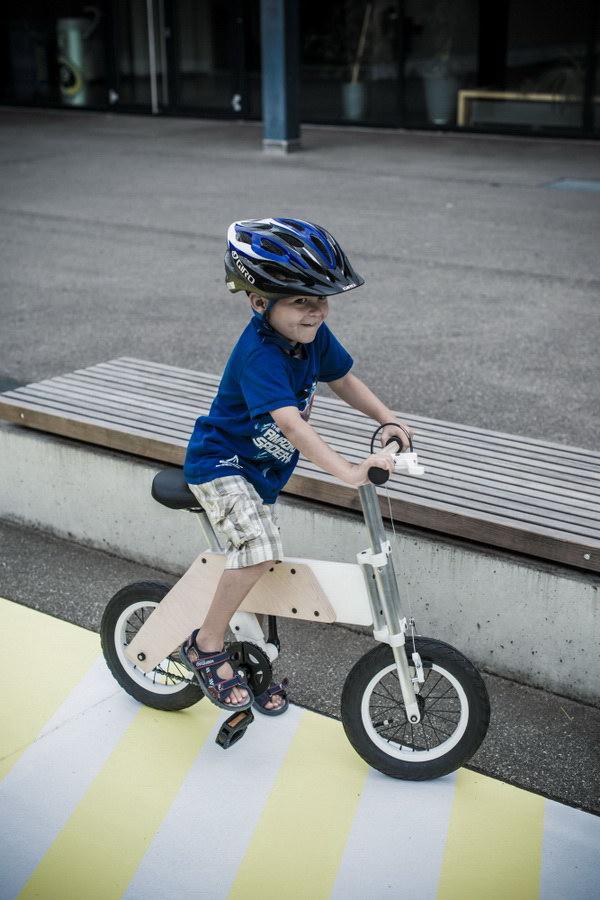 miilo创意儿童自行车