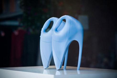 创意橱窗设计--展示无处不在的高跟鞋-百货公司橱窗借鉴, 空间