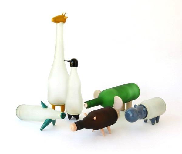 瓶子手工制作动物企鹅