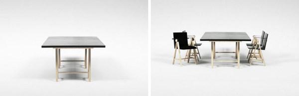 几何解构lokii家具设计