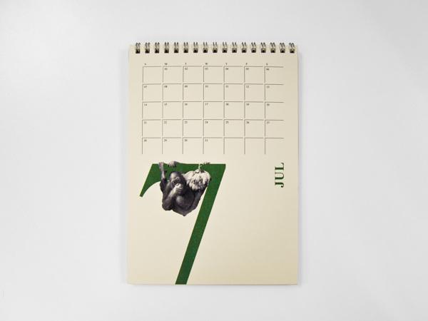 2014动物主题台历设计