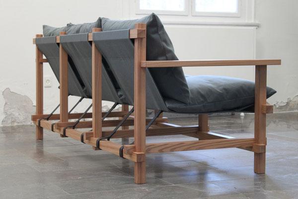 原木风格沙发设计