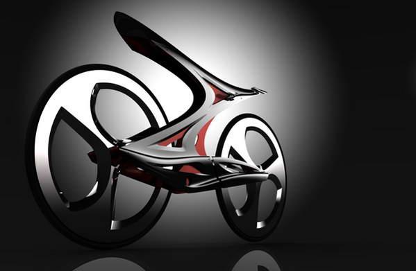 超酷个性自行车概念设计