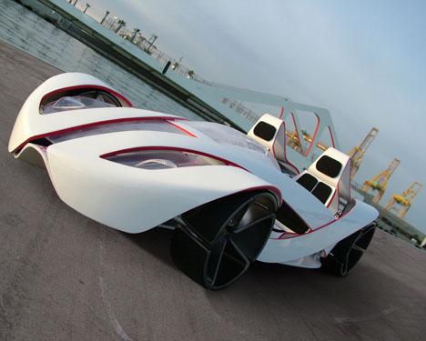 酷炫概念f1赛车设计