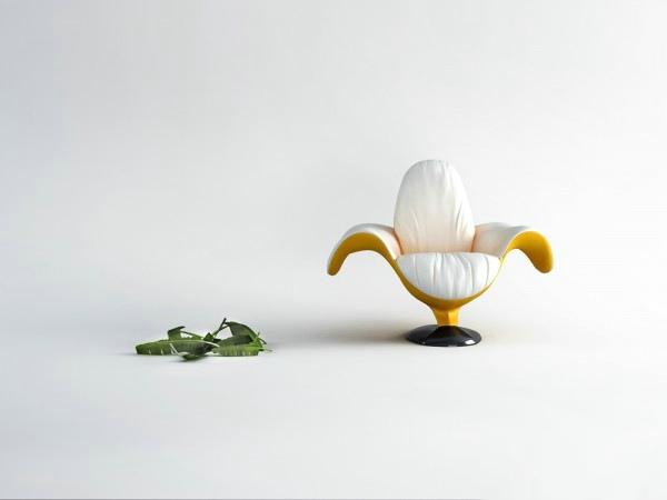 舒适的创意香蕉座椅设计欣赏