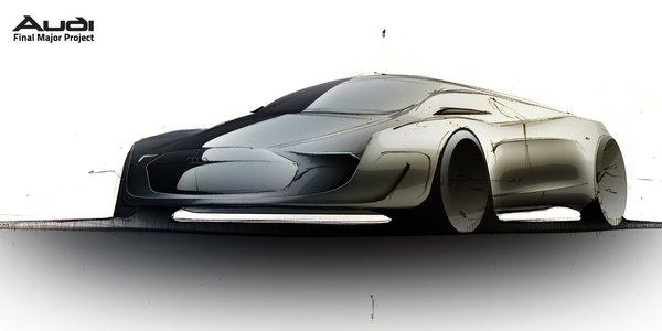 跨时代奥迪概念车设计