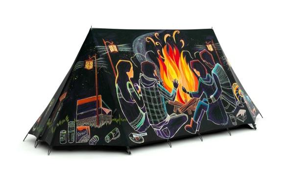 创意帐篷设计欣赏