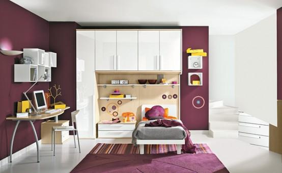 可爱的儿童卧室设计欣赏