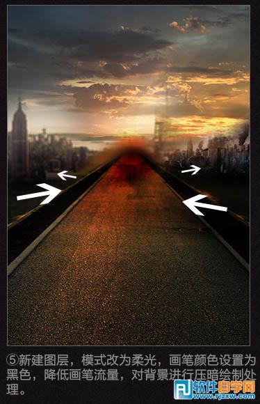 ps 制作海报背景 曲线