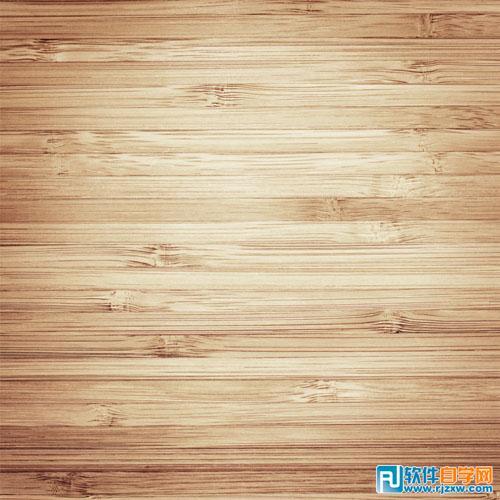首先把木纹背景放入画面中作为桌面
