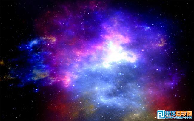 photoshopcs5给拍情侣写真图片制作浪漫的星空背景
