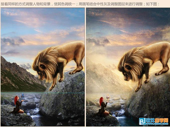 狮子王手绘电影海报