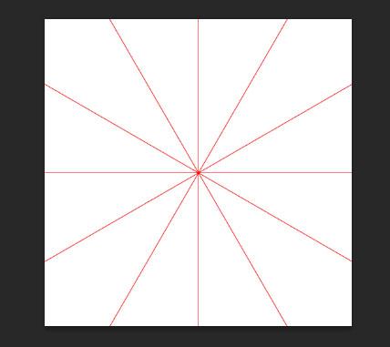 点旋转对称花纹图案