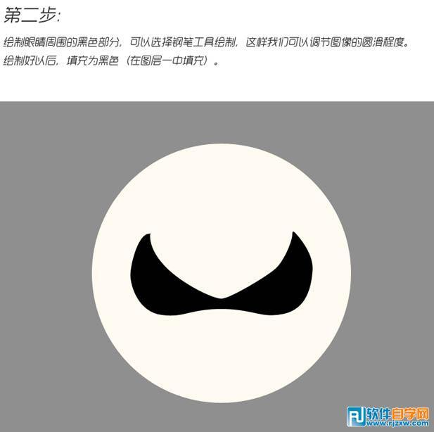 可爱卡通熊猫头像设计