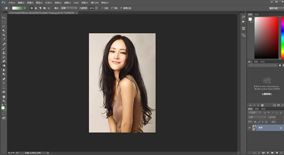 PS如何把美女生活照转为素描照效果_软件自学网