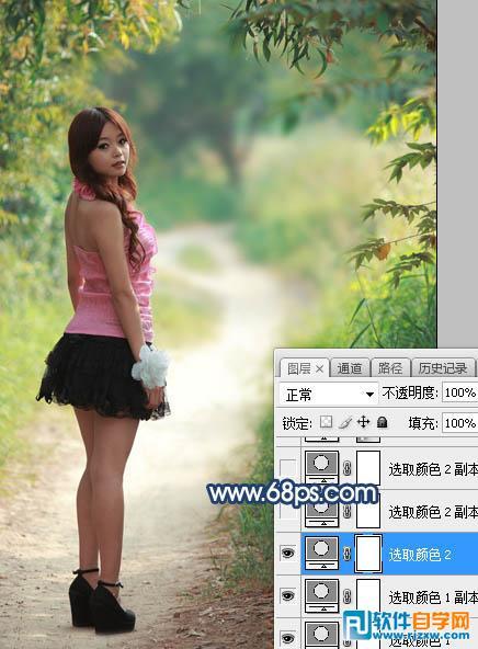 photoshop逆光后期处理_软件自学网