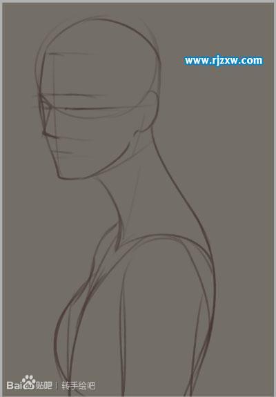 PS把人物转为工笔画效果_软件自学网