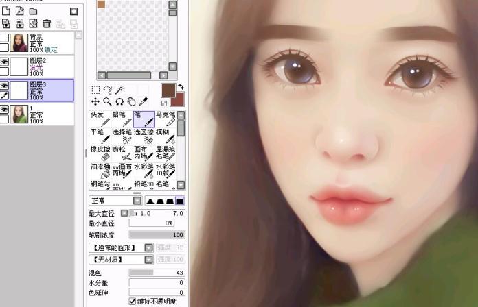 微信头像女卡通手绘图 ps教程 3 - 软件自学网
