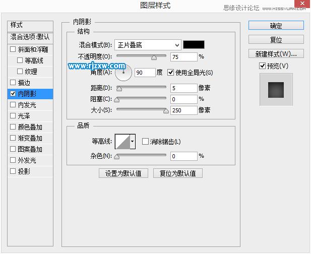 PS设计checkbox圆形按钮样式_软件自学网