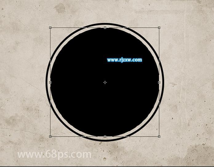PS制作邮票印章_软件自学网