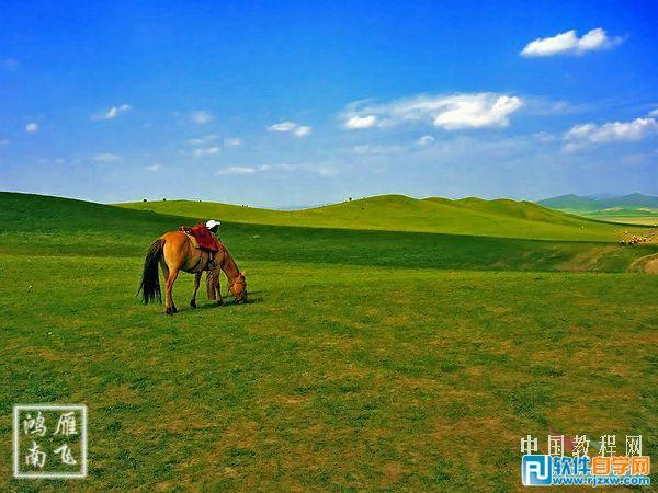 打造高清的草原风景图片