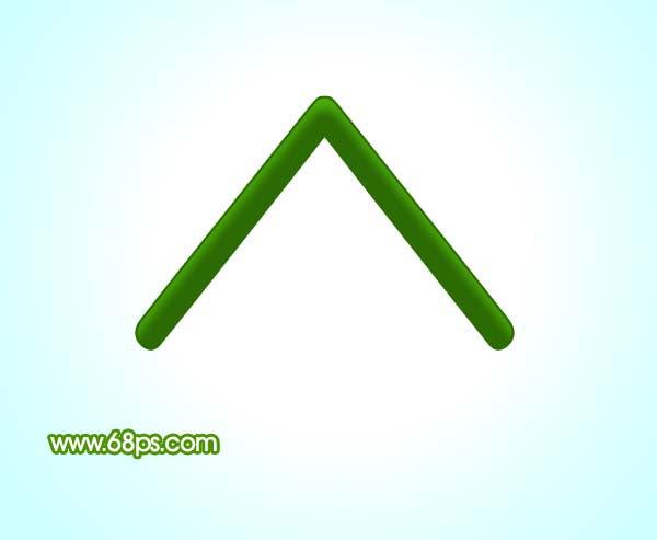 用ps制作漂亮绿色房子的图标