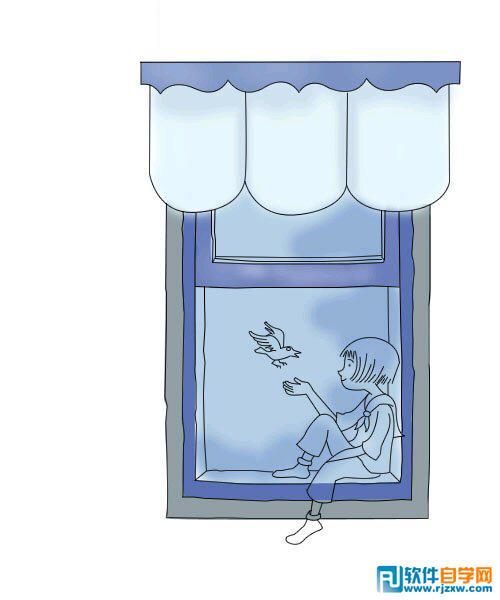 ps 古代窗框素材
