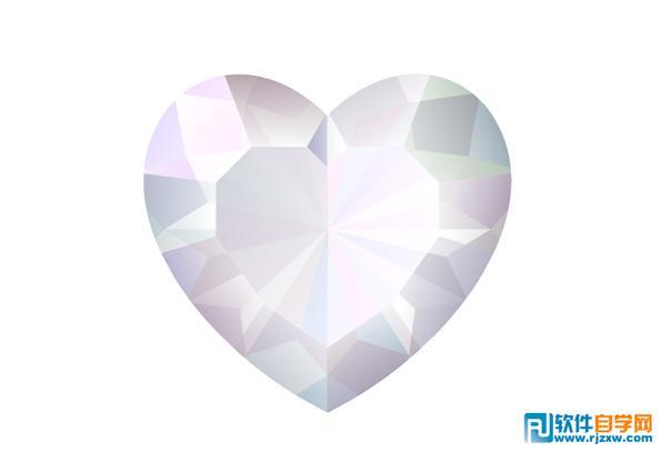 v心形一条漂亮的心形金色宝石项链车载净化器图片