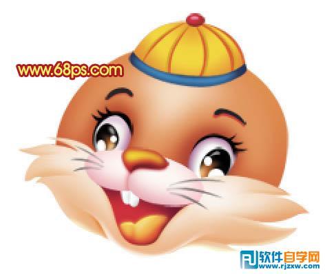制作一只非常可爱的新年吉祥兔