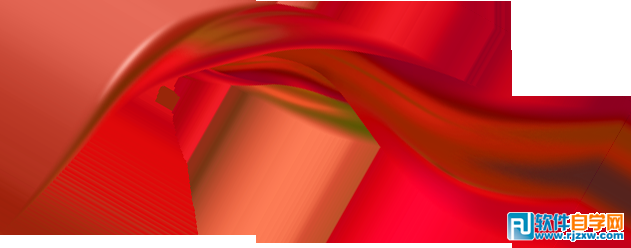 """5、新建一个图层,按字母键""""D"""",把前背景颜色恢复到默认的黑白,选择菜单:滤镜 > 渲染 > 云彩,确定后把混合模式改为""""柔光"""",添加图层蒙版,用黑白渐变拉出下图所示的效果。"""