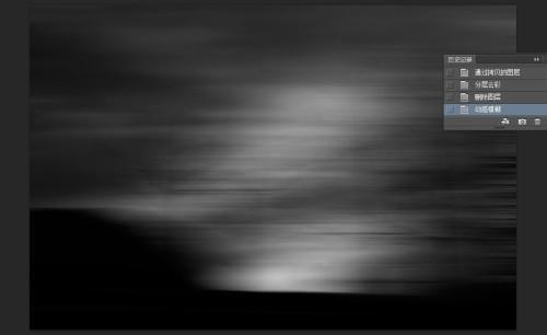 暗光图片加上动感模糊背景_软件自学网