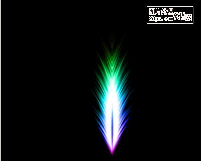 用滤镜制作彩色羽毛 ps教程 - 软件自学网