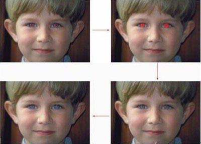 ps练习素材 红眼