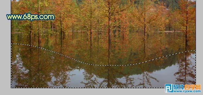 利用PS滤镜把外景照片转成水彩画效果