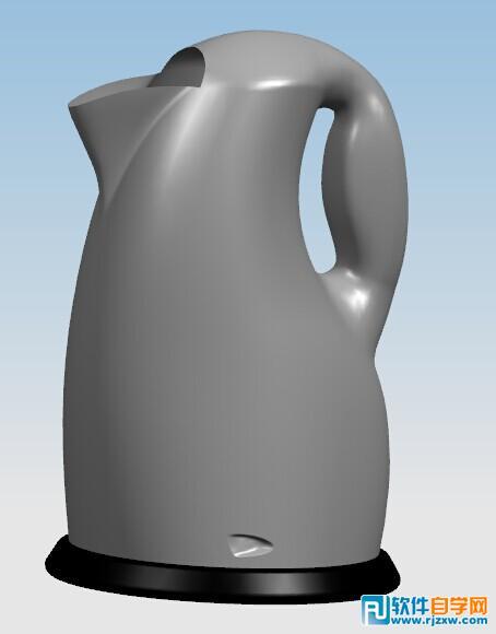 ug逆向造型设计——水壶